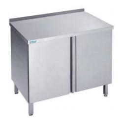 Stół przyścienny, drzwi skrzydłowe 600x600x850mm