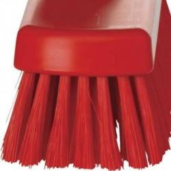 Szczotka do zamiatania podłogi 300x70x115 mm, włos 45 mm czerwona