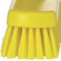 Szczotka do zamiatania podłogi 300x70x115 mm, włos 45 mm żółta