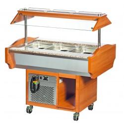 Wózek bufetowy chłodniczy SBM4
