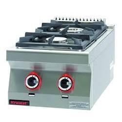 Kuchnia gazowa 2-palnikowa nastawna 900.KG-2