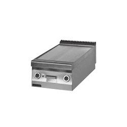 Płyta grillowa elektryczna ryflowana 900.PBE-450R-C