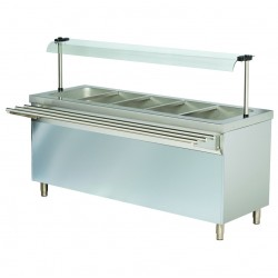 Stanowisko chłodnicze z ladą sałatkową z szafką chłodzącą RSR718FN