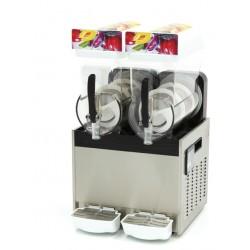 Granitor Urządzenie do napojów lodowych slush shake 2 zbiorniki 2x15 litrów MS2x15