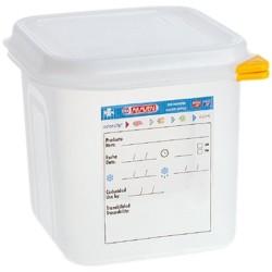 Pojemnik GN 1/6 100 polipropylen z pokrywką szczelną