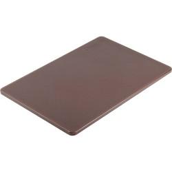 Deska do krojenia 450x300 mm brązowa