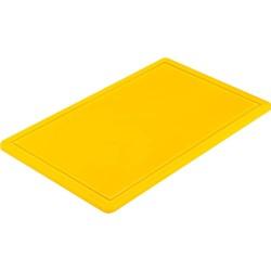 Deska do krojenia GN 1/1 żółta