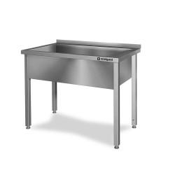 Stół z basenem 1-komorowym spawany 600x600x850 mm h 300 mm