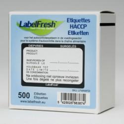 Etykieta LabelFresch Pro - 1000 szt - Poniedziałek