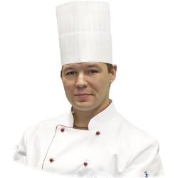 Czapka kucharska Premium h 200 mm/20 szt