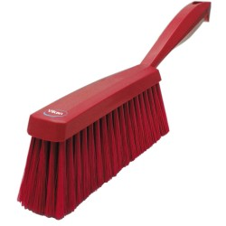 Zmiotka 330x30x65 mm, włos 45 mm czerwona