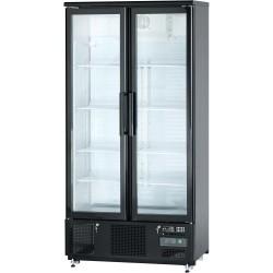 Szafa chłodniczna do butelek 500 l drzwi otwierane