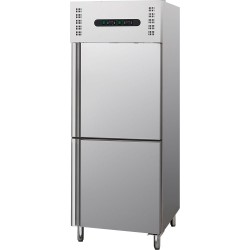 Szafa chłodniczo mroźnicza 300l+300l, GN 2/1