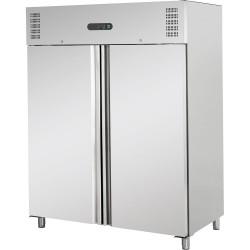 Szafa chłodnicza  2 drzwiowa ze stali nierdzewnej GN 2/1 1311 l