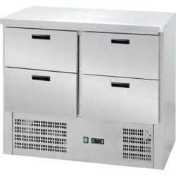 Stół chłodniczy 4 szuflady agregat na dole