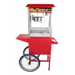 Maszyna do popcornu z wózkiem