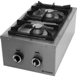 Kuchnia nastawna gazowa 2 palnikowa Modular 400x700 8,5kW - G20 (GZ50)