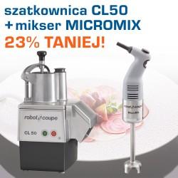 Szatkownica do warzyw CL50 230V + mikser MicroMix