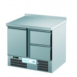 Stół chłodniczy GN 1/1-1 drzwi, 2 szuflady RILLING