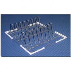 Kosz metalowy do blach i tac(600x400) 7 rzędów 500x500x202