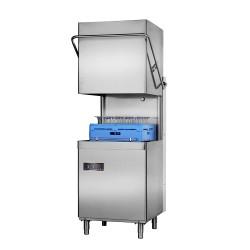 Zmywarka kapturowa 500x500 6,75 kW z dozownikiem płynu nabłyszczającego i myjącego