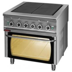 Kuchnia elektryczna z piekarnikiem elektrycznym 4 płytowa