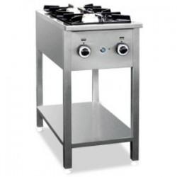 Kuchnia gazowa 2 palnikowa na podstawie otwartej