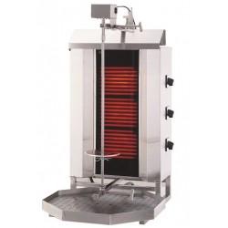 Gyros,  opiekacz elektryczny do kebaba 3 palniki wsad 40kg KLG 230