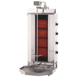 Gyros, opiekacz elektryczny do kebaba 4 palniki wsad 60kg KLG 231