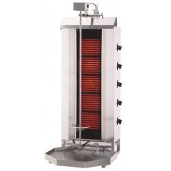 Gyros opiekacz elektryczny do kebaba 5 palników wsad 80kg KLG 232