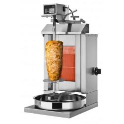 Gyros, opiekacz gazowy do kebaba 1 palnik wsad 5kg KLG 225