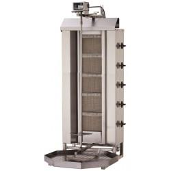 Gyros, opiekacz gazowy do kebaba 5 palników wsad 80kg KLG 222