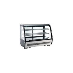 Witryna chłodnicza nastawna, cukiernicza ekspozycyjna 160l LED