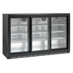Barowa szafa chłodnicza, chłodziarka podblatowa SC 309SL drzwi przesuwne 335l