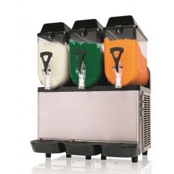 Granitor. Urządzenie do napojów lodowych 3 zbiorniki na 10 litrów GC 10-3
