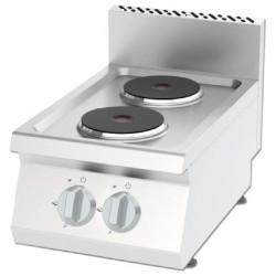 Kuchnia elektryczna 2 palnikowa KEO-4060