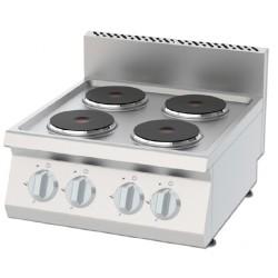 Kuchnia elektryczna 4 palnikowa KEO-6060