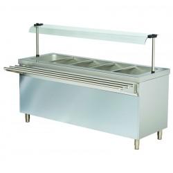 Stanowisko chłodnicze z ladą sałatkową z szafką chłodzącą RSR714FN