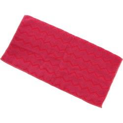 Ścierka z mikrofibry, uniwersalna, czerwona