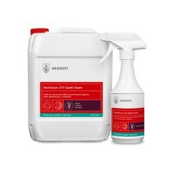 Pianka do codziennego czyszczenia mycia kabin prysznicowych, brodzików Mediclean 311 Foam/5L