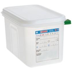 Pojemnik GN 1/4 100 polipropylen z pokrywką szczelną