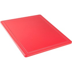Deska do krojenia GN 1/2 czerwona
