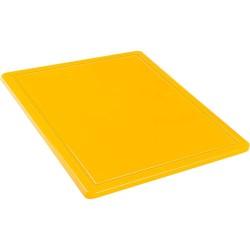 Deska do krojenia GN 1/2 żółta