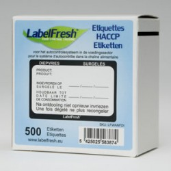 Etykieta LabelFresch Pro - 500 szt - Wtorek