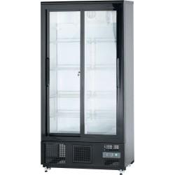 Szafa chłodniczna do butelek 500 l drzwi przesuwane