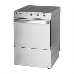 Zmywarka uniwersalna 400/230V z dozownikiem płynu myjącego, po mpą zrzutową i pompą wspomagającą płukanie