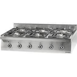 Kuchnia nastawna gazowa 6 palnikowa1200x700 32,5kW - G30/31 (propan-butan)