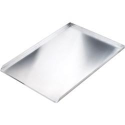 Blacha wypiekowa aluminiowa lita 3 ranty 1,5 mm (600x400) mm