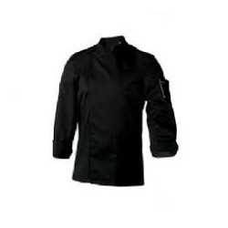 Bluza kucharska czarna SIAKA długi rekaw
