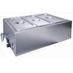 Bemar elektryczny z pojemnikami GN 1/3 z kranikiem